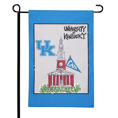 """Kentucky Wildcats 12"""" x 18"""" Mascot Double-Sided Garden Flag"""