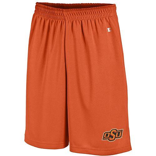 Men's Champion Orange Oklahoma State Cowboys Mesh Shorts