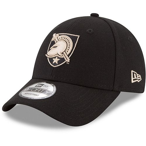 Men's New Era Black Army Black Knights The League 9FORTY Adjustable Hat