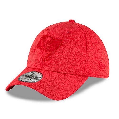Men's New Era Heathered Red Tampa Bay Buccaneers Heated Up 39THIRTY Flex Hat