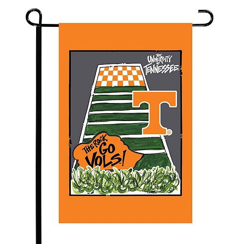 """Tennessee Volunteers 12"""" x 18"""" Double-Sided Garden Flag"""