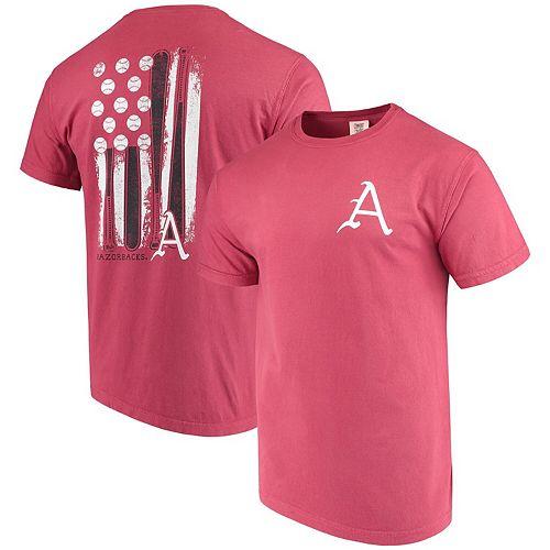 cheaper fb774 1e407 Men's Cardinal Arkansas Razorbacks Baseball Flag Comfort ...