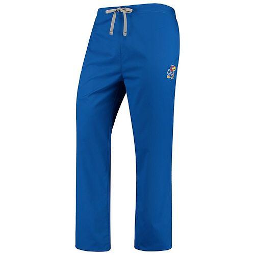Royal Kansas Jayhawks Drawstring Cargo Pants