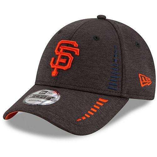 Men's New Era Black San Francisco Giants Speed Shadow Tech 9FORTY Adjustable Hat