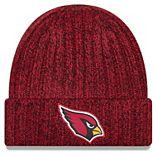 Women's New Era Cardinal Arizona Cardinals 2018 NFL Sideline Cold Weather Official Knit Hat