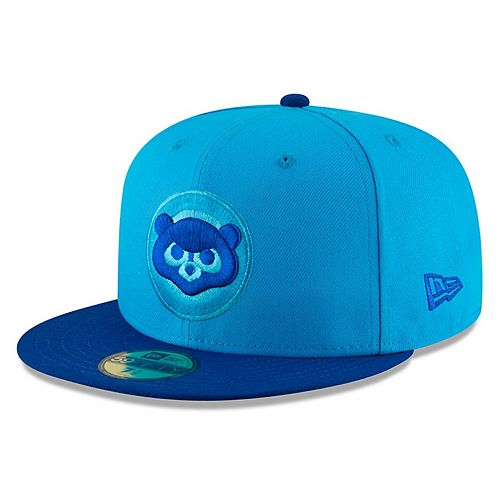 Men's New Era Blue/Blue Chicago Cubs 2018 Players' Weekend On-Field 59FIFTY Fitted Hat