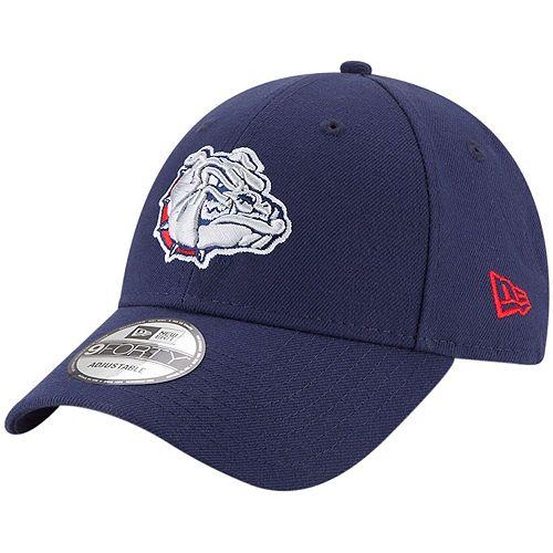 Men's New Era Navy Gonzaga Bulldogs The League 9FORTY Adjustable Hat