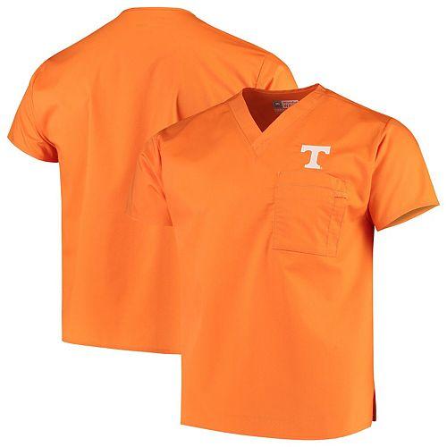 Tennessee Orange Tennessee Volunteers V-Neck Scrub Top