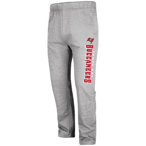 Men's Majestic Heathered Gray Tampa Bay Buccaneers Critical Victory Pants