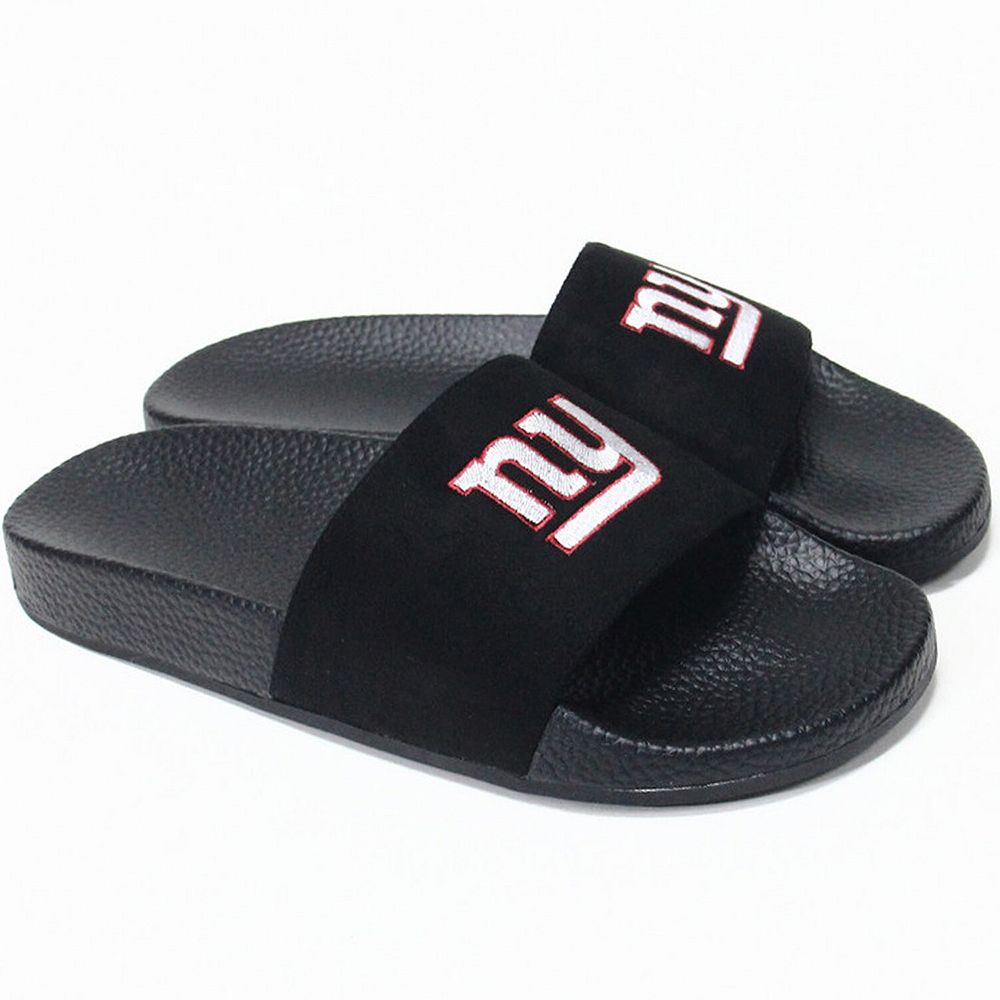 Women's Cuce New York Giants Slide-On Sandals