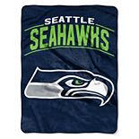 """The Northwest Company Seattle Seahawks Strong Side 60"""" x 80"""" Raschel Throw Blanket"""