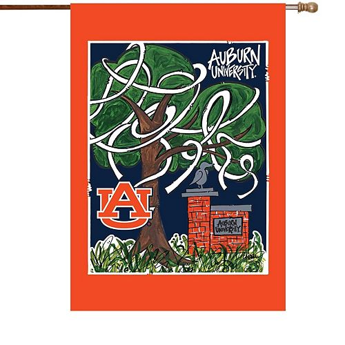 "Auburn Tigers 28"" x 40"" More Than Tailgating Double-Sided House Flag"