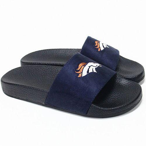 Women's Cuce Denver Broncos Slide-On Sandals