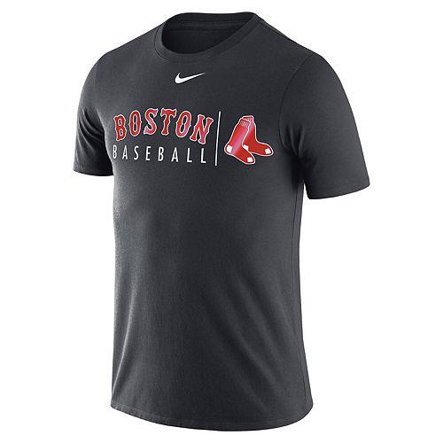 Men's Nike Anthracite Boston Red Sox MLB Practice T-Shirt