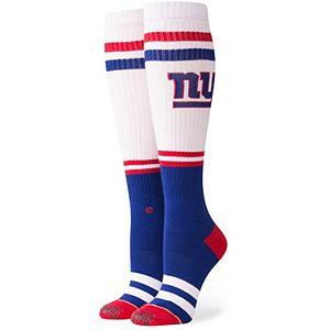 Women's Stance New York Giants Pipe Bomb Tall Boot Socks