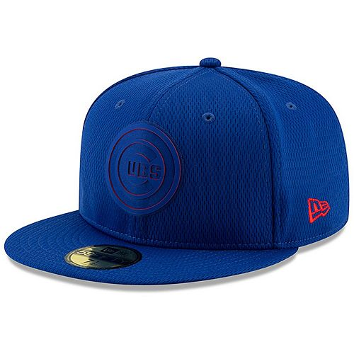 Men's New Era Royal Chicago Cubs 2019 Clubhouse Collection 59FIFTY Fitted Hat