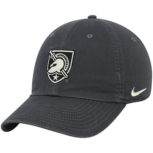 Men's Nike Anthracite Army Black Knights Heritage 86 Performance Adjustable Hat
