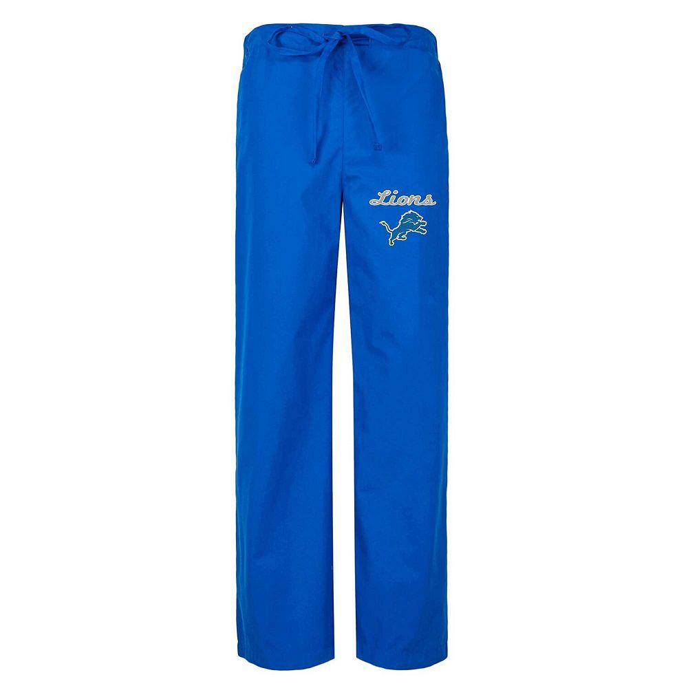 Women's Concepts Sport Royal Detroit Lions Scrub Pants