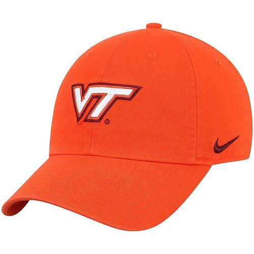 Men's Nike Orange Virginia Tech Hokies Heritage 86 Adjustable Hat