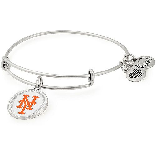 Women's Alex & Ani New York Mets Stack Bracelet