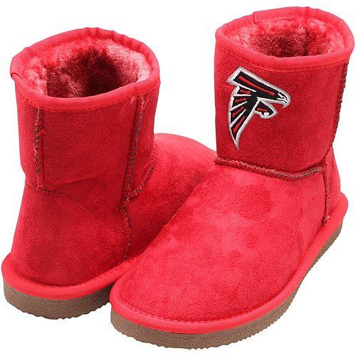 Women's Cuce Red Atlanta Falcons The Rookie Mini Boots