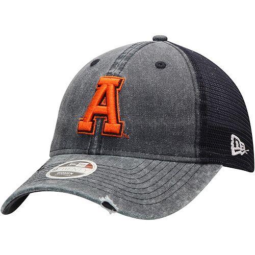 Women's New Era Navy Auburn Tigers Tonal Washed 9TWENTY Adjustable Hat