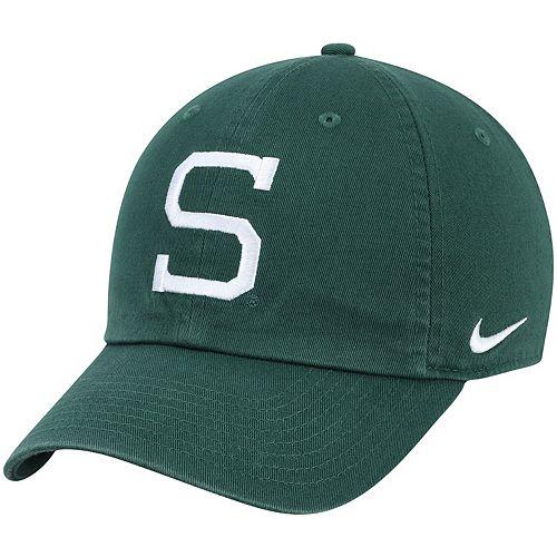 Men's Nike Green Michigan State Spartans Heritage 86 Performance Adjustable Hat