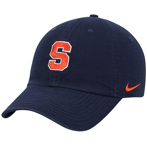 Men's Nike Navy Syracuse Orange Heritage 86 Logo Performance Adjustable Hat