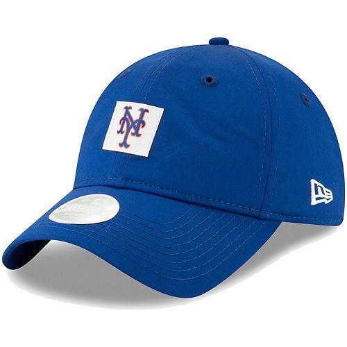 Women's New Era Royal New York Mets Sleekest Fan 9TWENTY Adjustable Hat