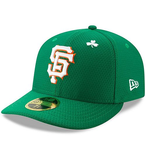 Men's New Era Kelly Green San Francisco Giants 2019 St. Patrick's Day On-Field Low Profile 59FIFTY Fitted Hat