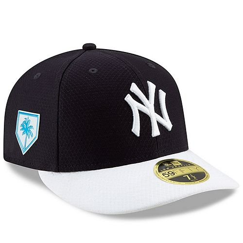 Men's New Era Navy/White New York Yankees 2019 Spring Training Low Profile 59FIFTY Fitted Hat