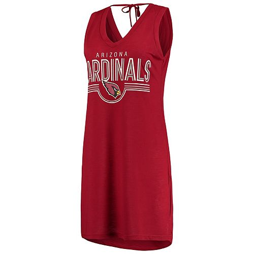 Women's G-III 4Her by Carl Banks Cardinal Arizona Cardinals Synergy Swimsuit Cover-Up