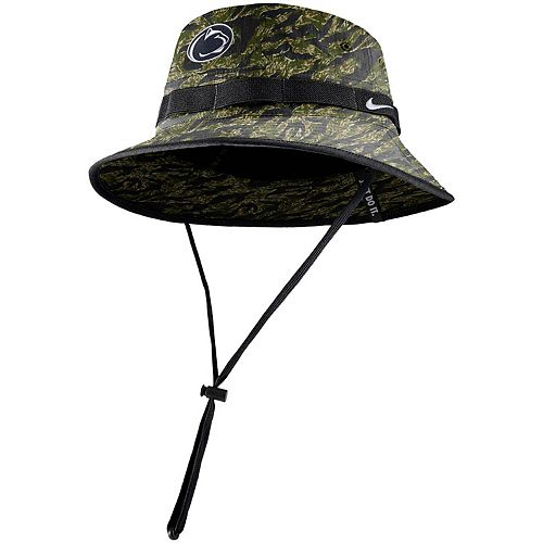 Men's Nike Camo Penn State Nittany Lions Tiger Performance Bucket Hat