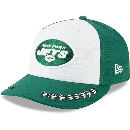 New York Jets New Era 2019 NFL Draft On-Stage Official Low Profile 59FIFTY Fitted Hat - White