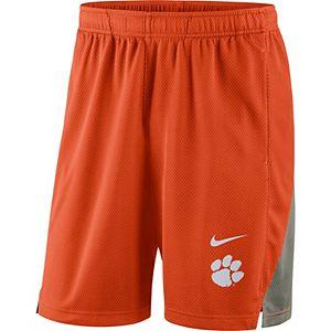Men's Nike Orange Clemson Tigers Franchise Shorts