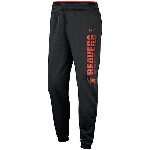Men's Nike Black Oregon State Beavers 2019 Sideline Therma Performance Pants