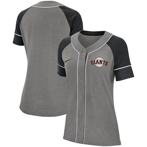 Women's Nike Gray San Francisco Giants Classic Baseball Jersey