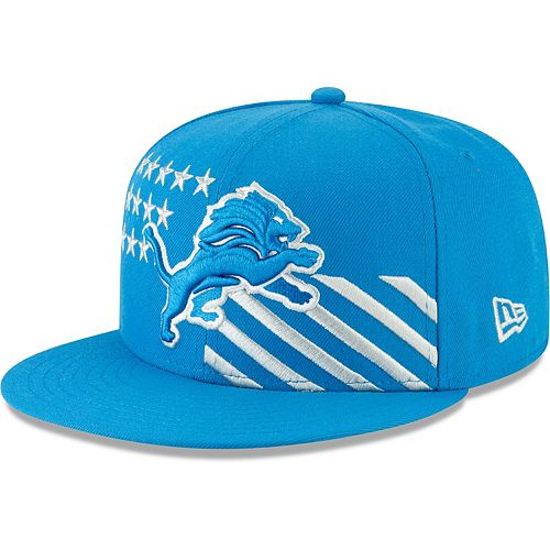 Detroit Lions New Era Youth 2019 NFL Draft On-Stage 9FIFTY Adjustable Hat - Blue
