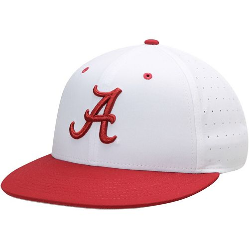 Men's Nike White Alabama Crimson Tide Aerobill Performance True Fitted Hat