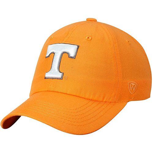 Men's Top of the World Tennessee Orange Tennessee Volunteers Primary Logo Staple Adjustable Hat