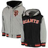 Youth JH Design Black San Francisco Giants Hooded Jacket