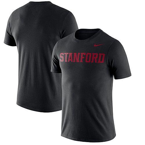 Men's Nike Black Stanford Cardinal Wordmark Performance T-Shirt
