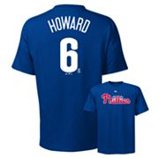 Majestic Philadelphia Phillies Ryan Howard Tee