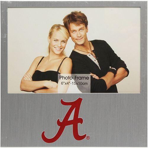 "Alabama Crimson Tide 4"" x 6"" Aluminum Picture Frame"