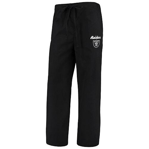 Women's Concepts Sport Black Oakland Raiders Scrub Pants