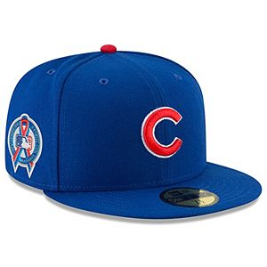 Men's New Era Royal Chicago Cubs 2018 9/11 Authentic Collection 59FIFTY Fitted Hat