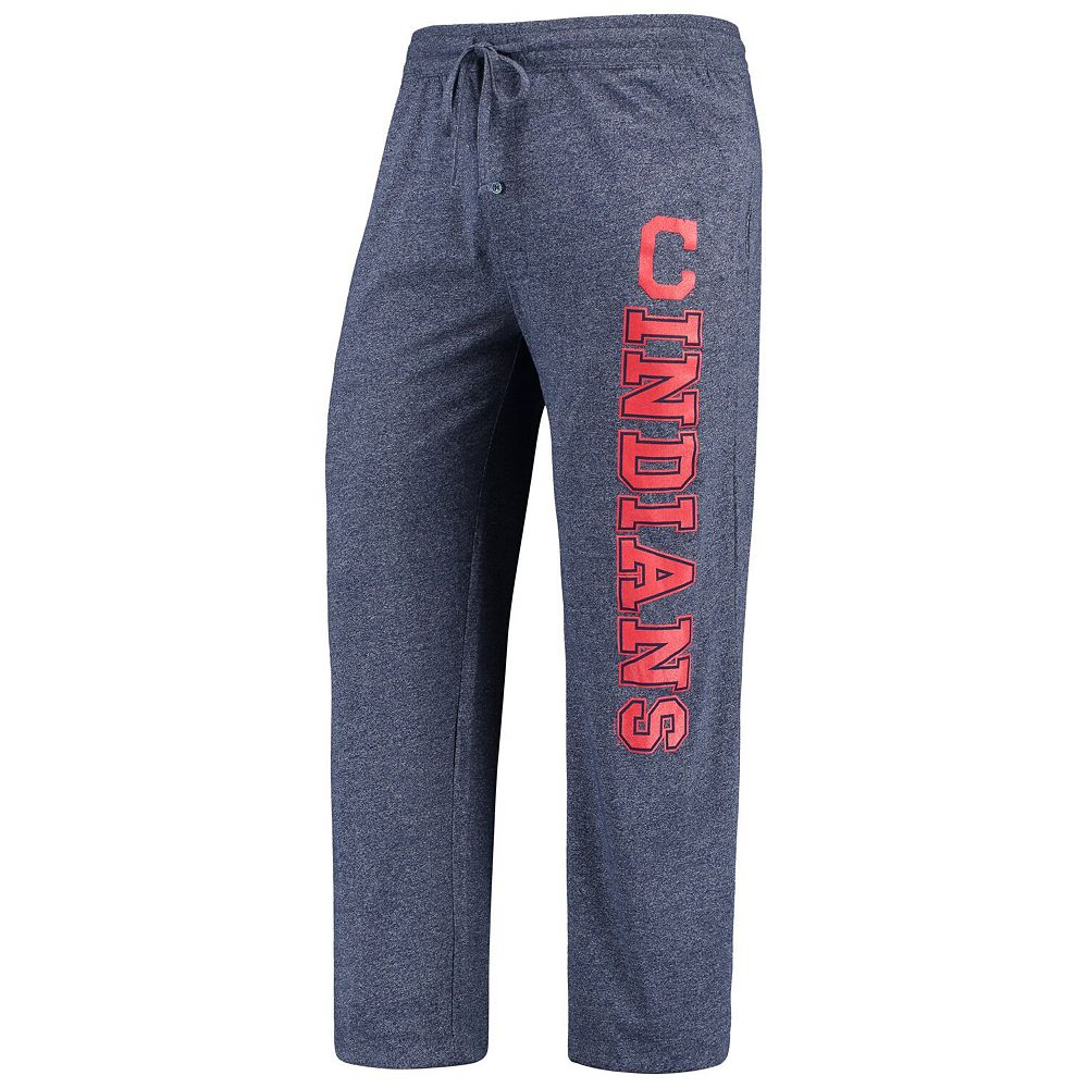 Men's Concepts Sport Heathered Navy Cleveland Indians Quest Pants