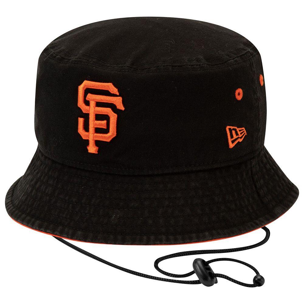 Men's New Era Black San Francisco Giants Shoreline Bucket Hat