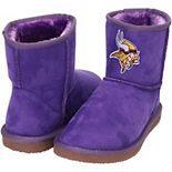 Women's Cuce Purple Minnesota Vikings The Rookie Mini Boots