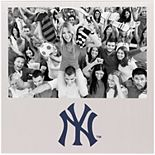 """New York Yankees 4"""" x 6"""" Aluminum Picture Frame"""